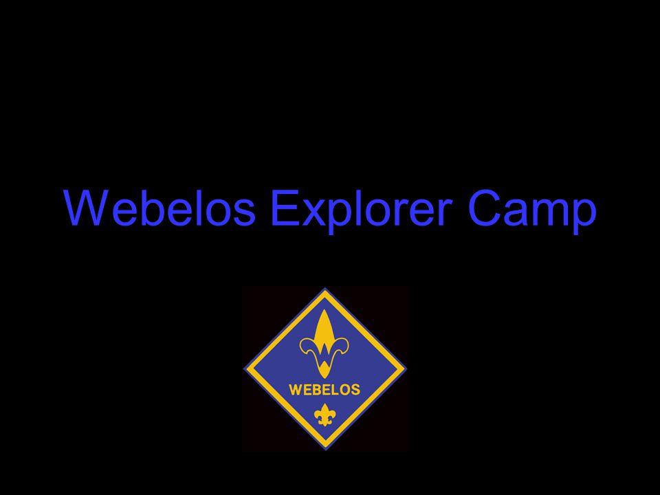 Webelos Explorer Camp