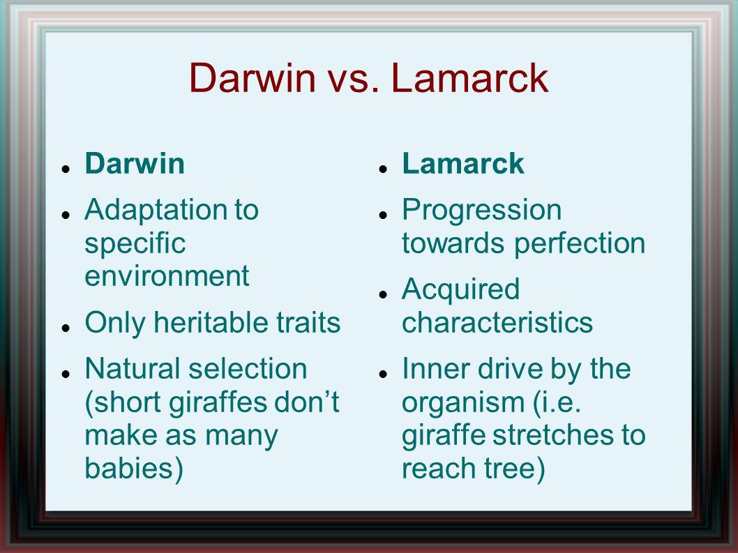 Darwin vs.