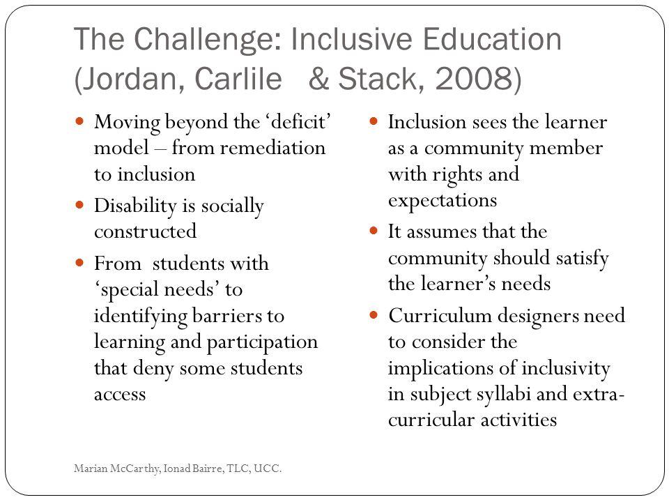Gardner's conclusion: Marian McCarthy, Ionad Bairre, TLC, UCC.