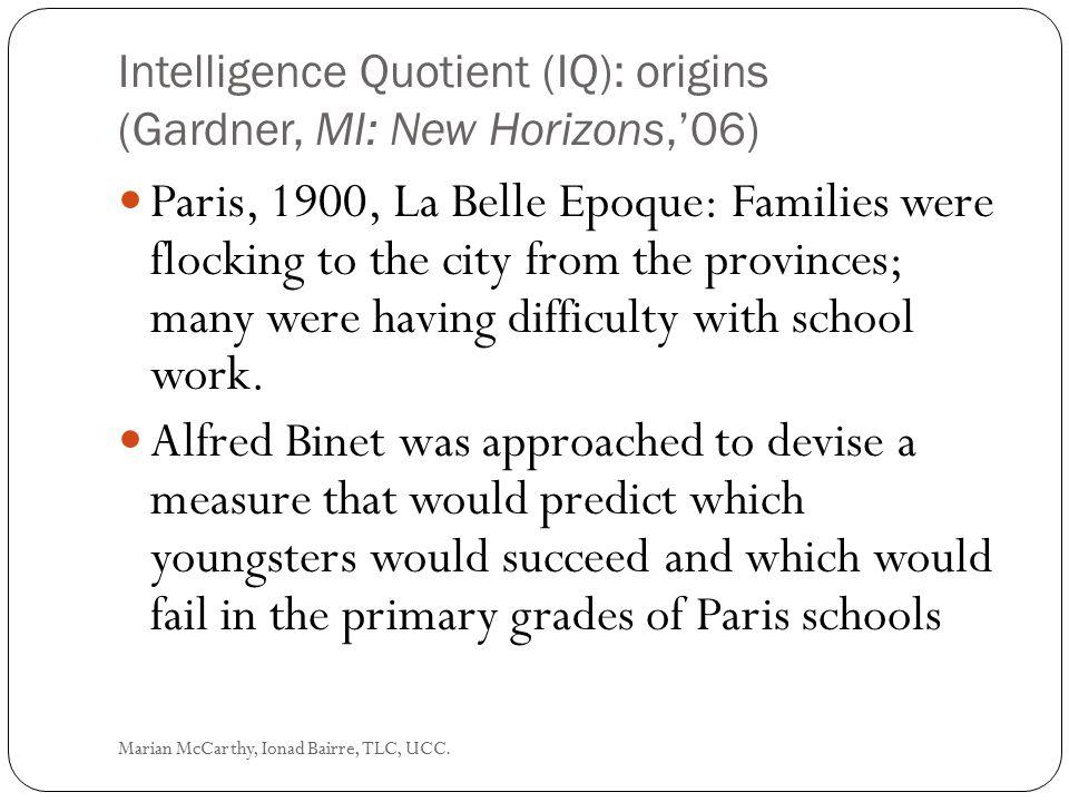 Quantitative/Numerical Marian McCarthy, Ionad Bairre, TLC, UCC.