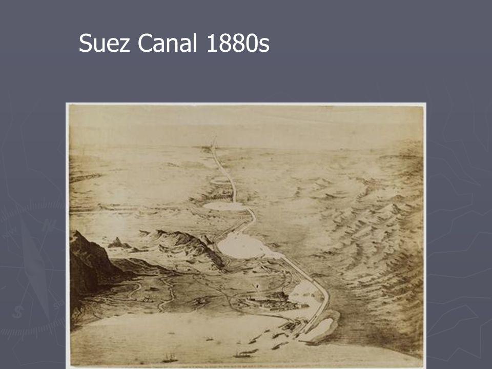 Suez Canal 1880s