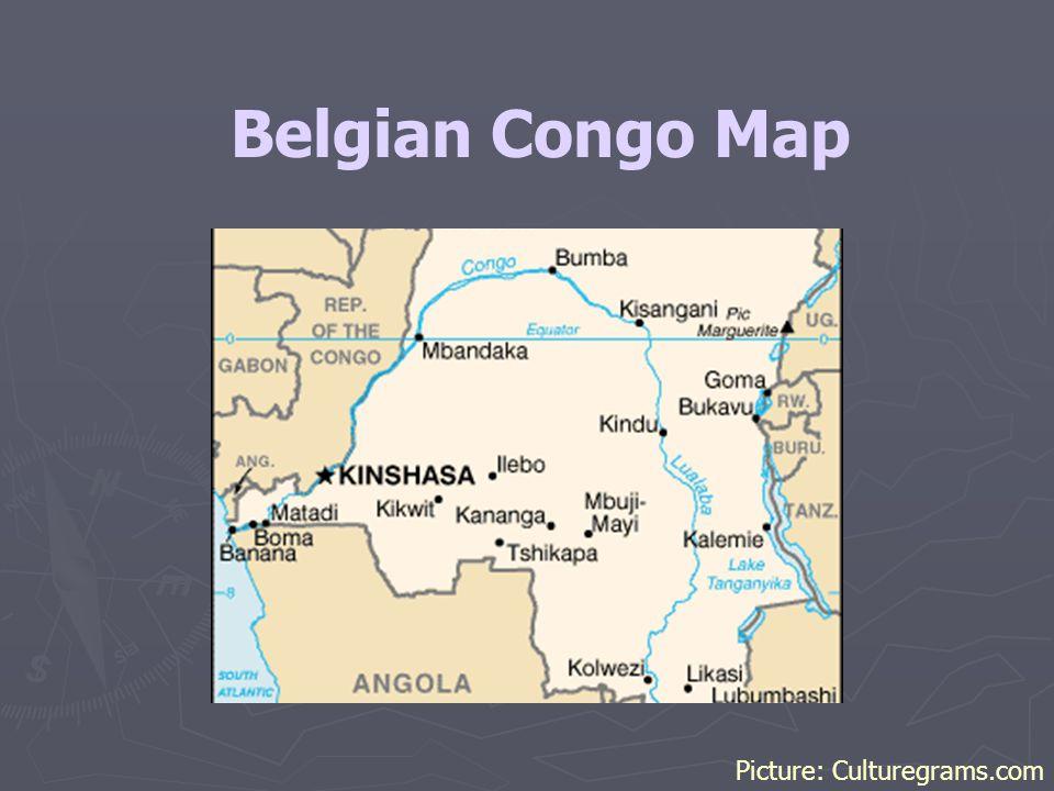 Belgian Congo Map Picture: Culturegrams.com