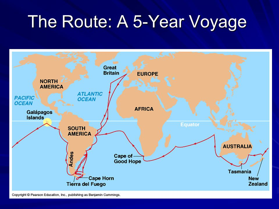The Route: A 5-Year Voyage