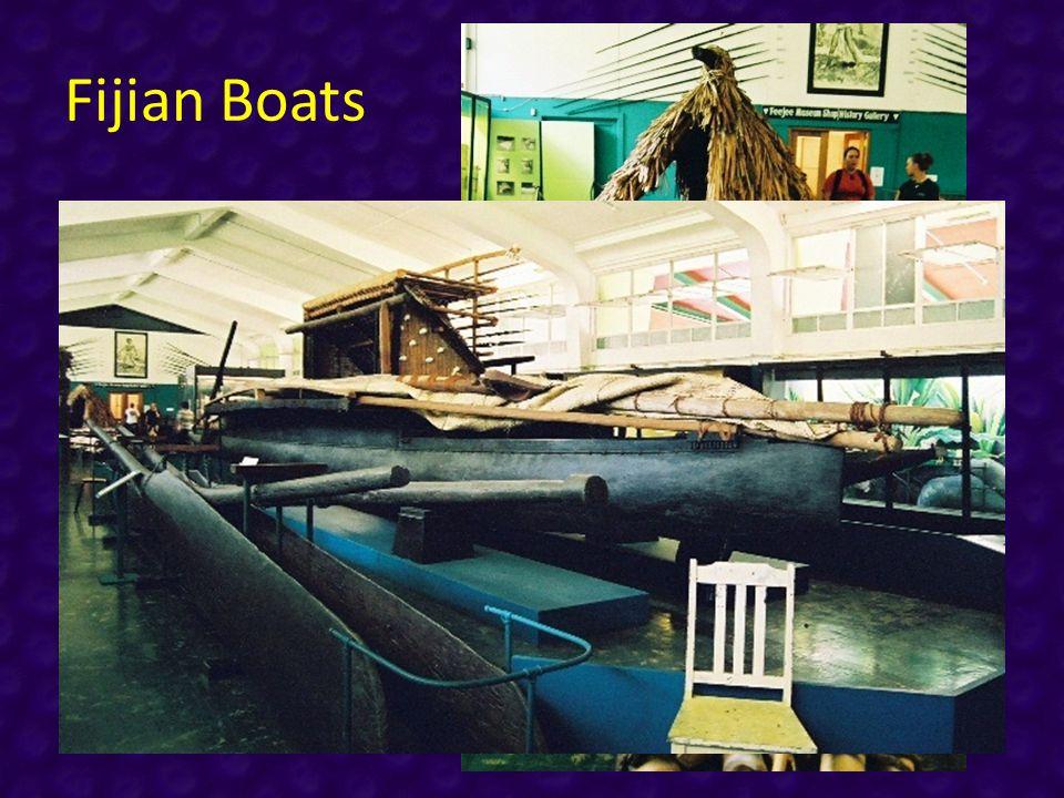 Fijian Boats