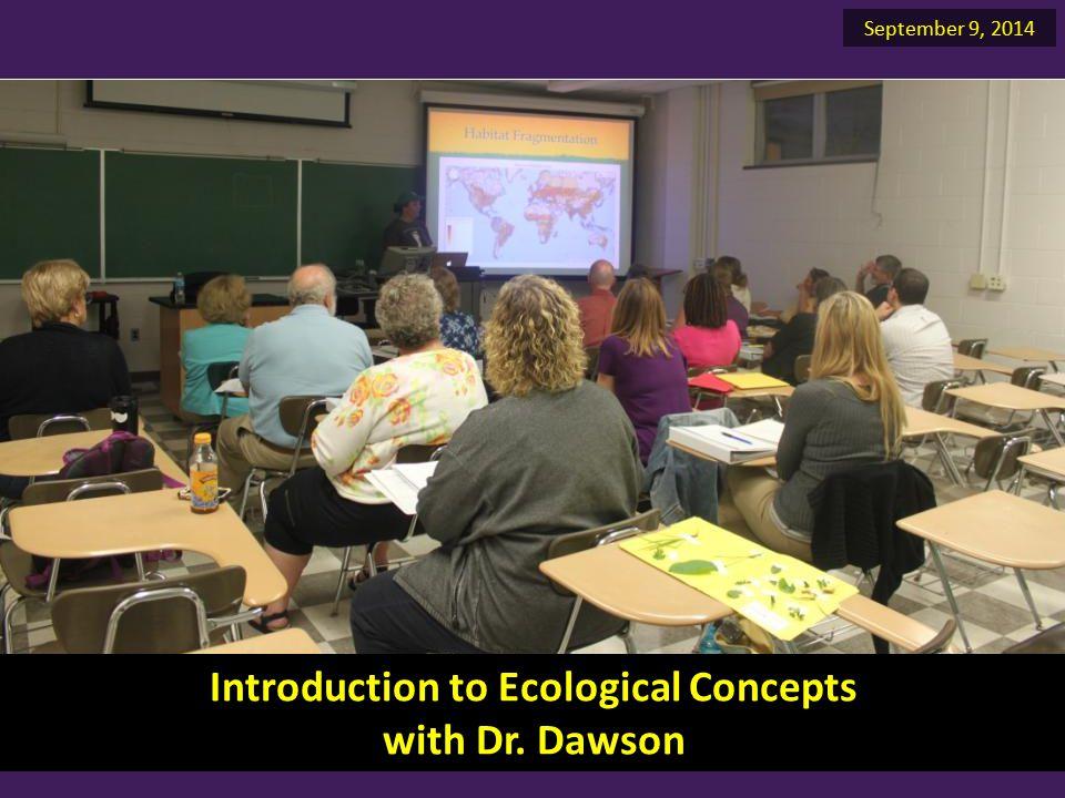Biological Diversity with Dr. Ambler September 9, 2014 Margie's plant inventory