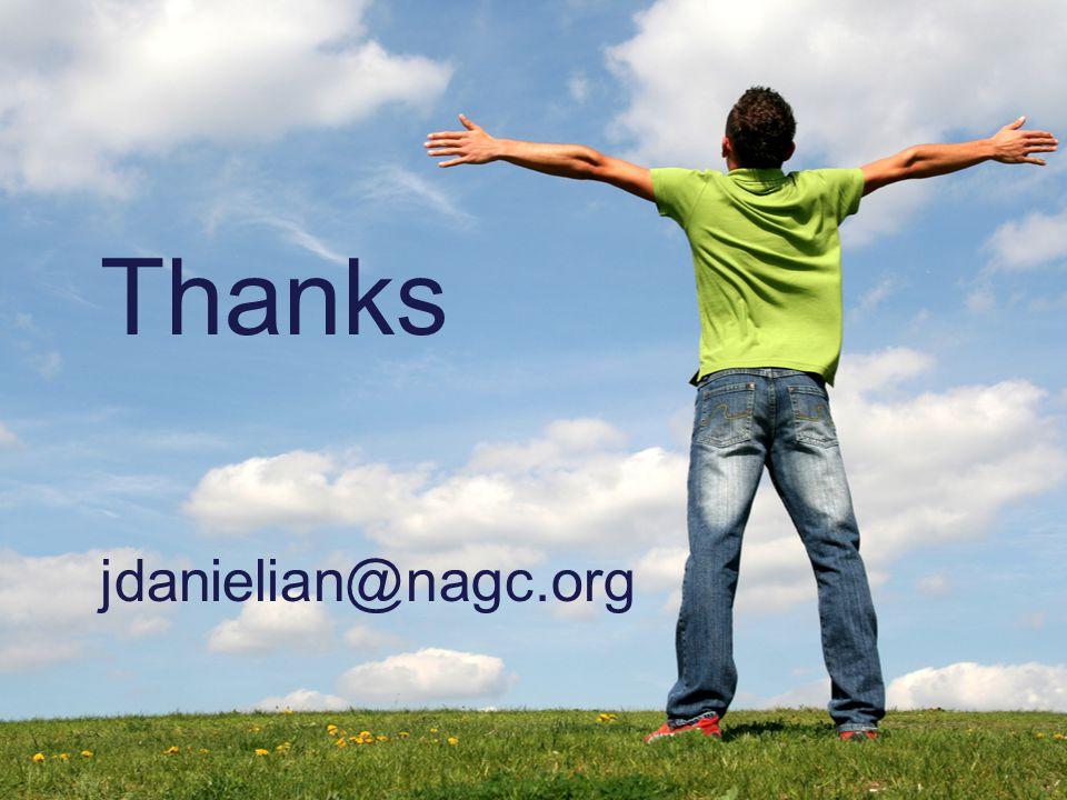 Thanks jdanielian@nagc.org