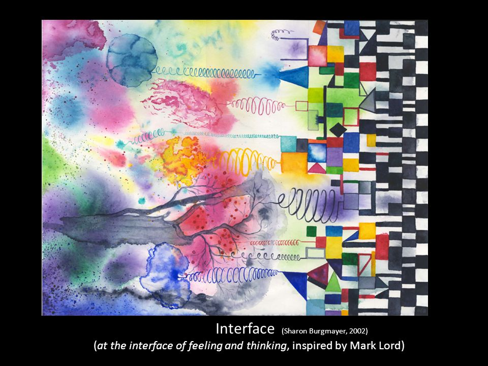 Interface (Sharon Burgmayer, 2002) (at the interface of feeling and thinking, inspired by Mark Lord)