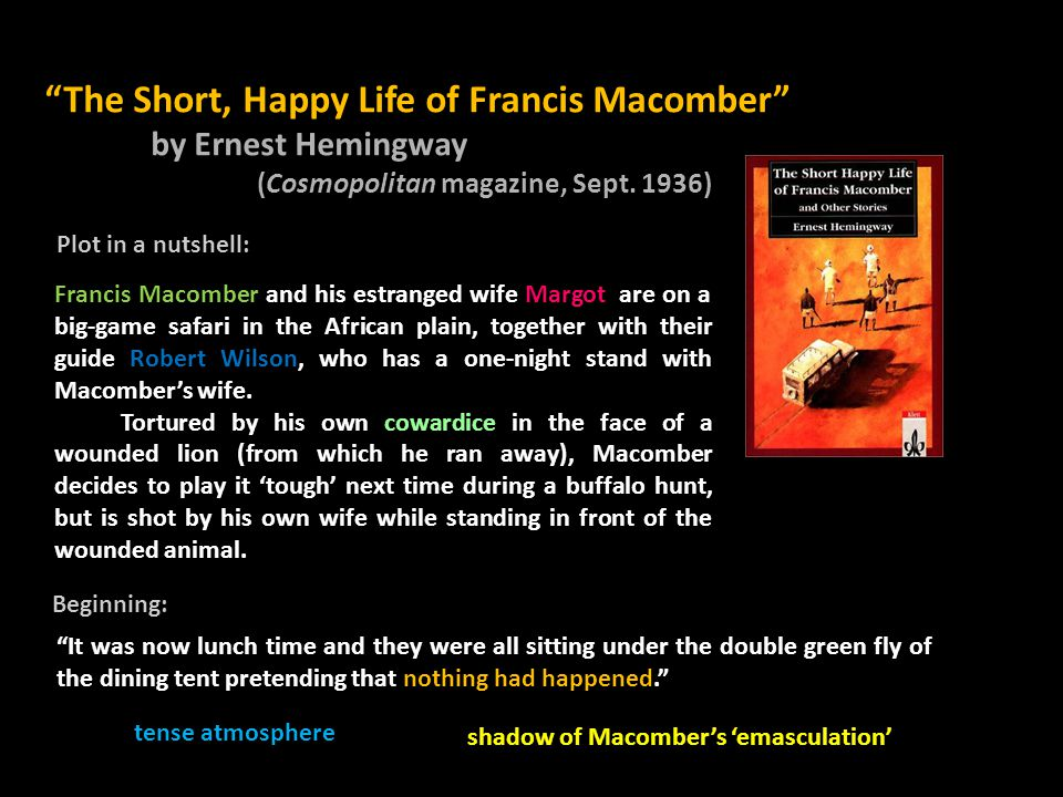 Death as Constant Presence in Hemingway's Life and Writings