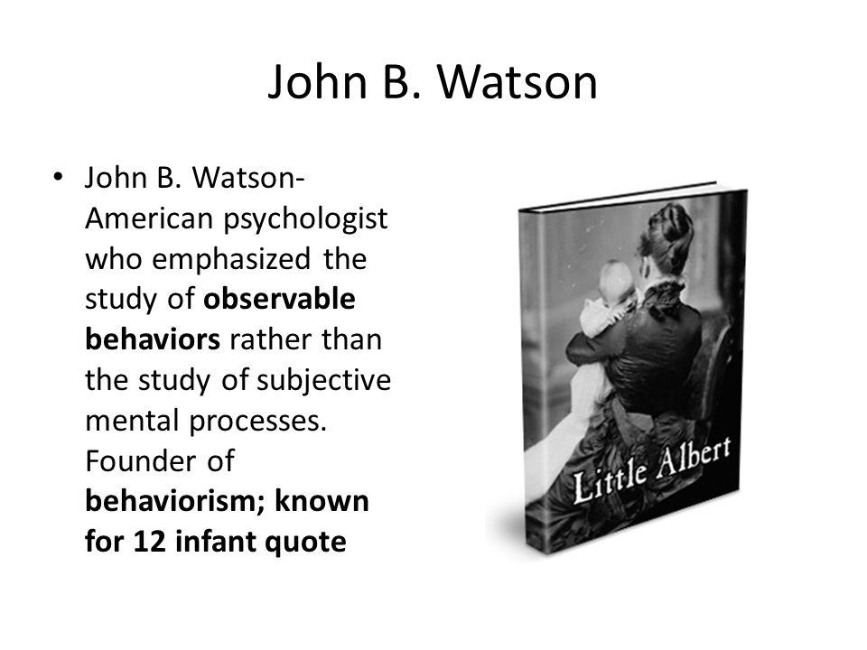 John Garcia John Garcia- pioneering researcher on taste aversion.