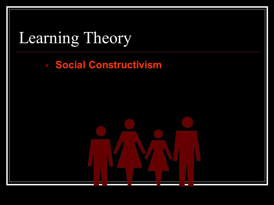 Critiques of Situative Cognition While the theory takes into account the social, the individual tends to be ignored.