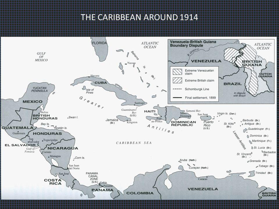 THE CARIBBEAN AROUND 1914