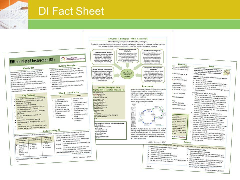 DI Fact Sheet