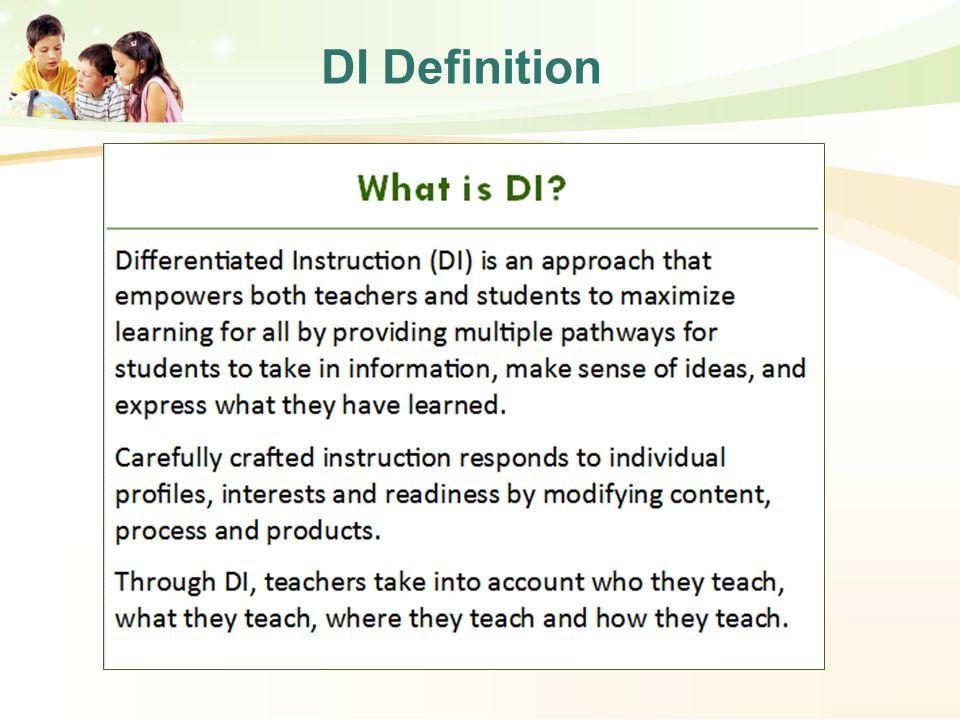 DI Definition