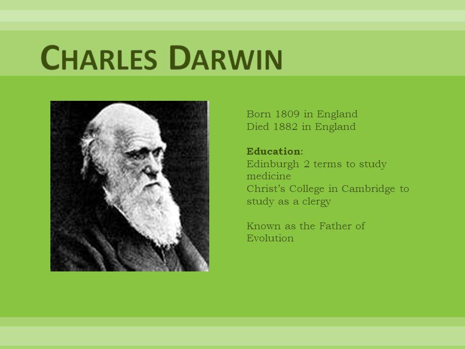 1831 Darwin took a job as a naturalist on the survey ship the HMS Beagle.