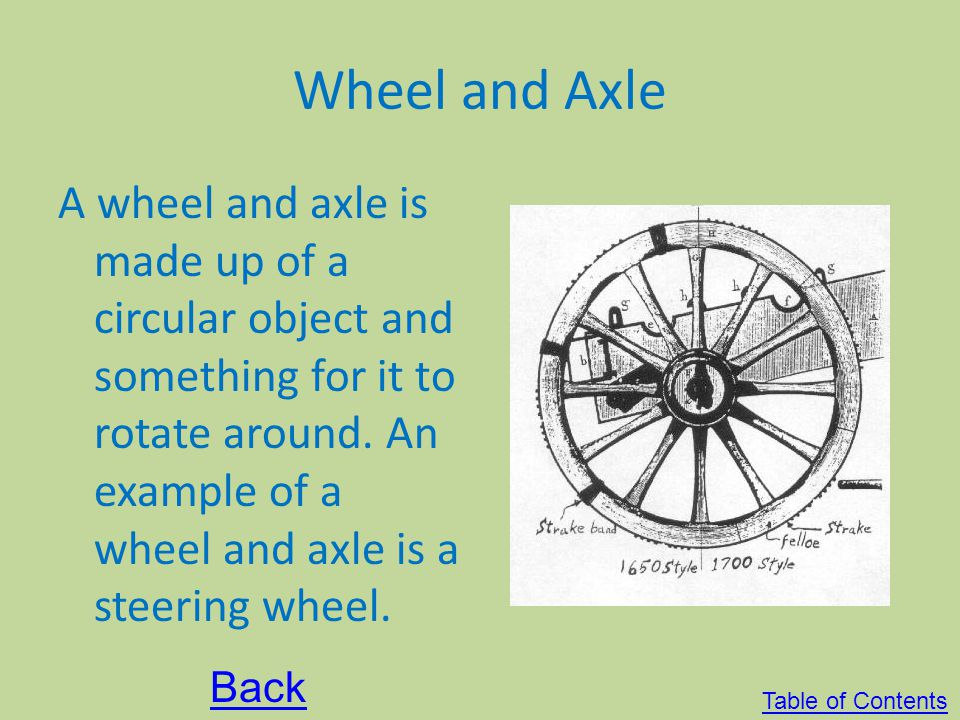 Pulley Pulley consists of a rope that runs through a grooved wheel. It makes work easier by changing the directions. One example of a pulley is a flag