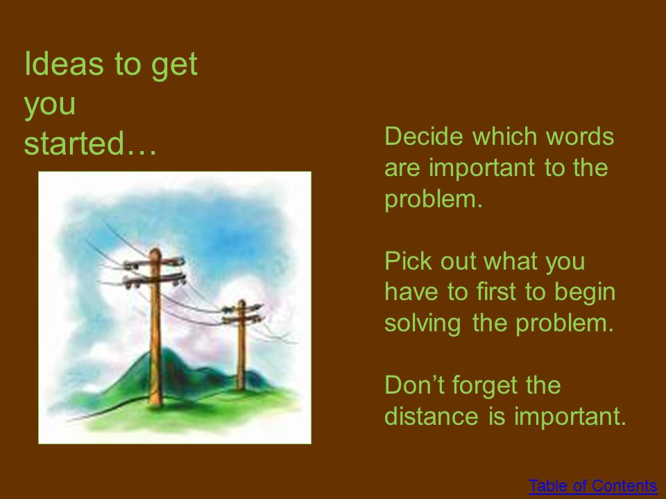 Take 5 minutes to think about how you would solve this problem. Think about the steps that you would take. Then talk to your group members to see the