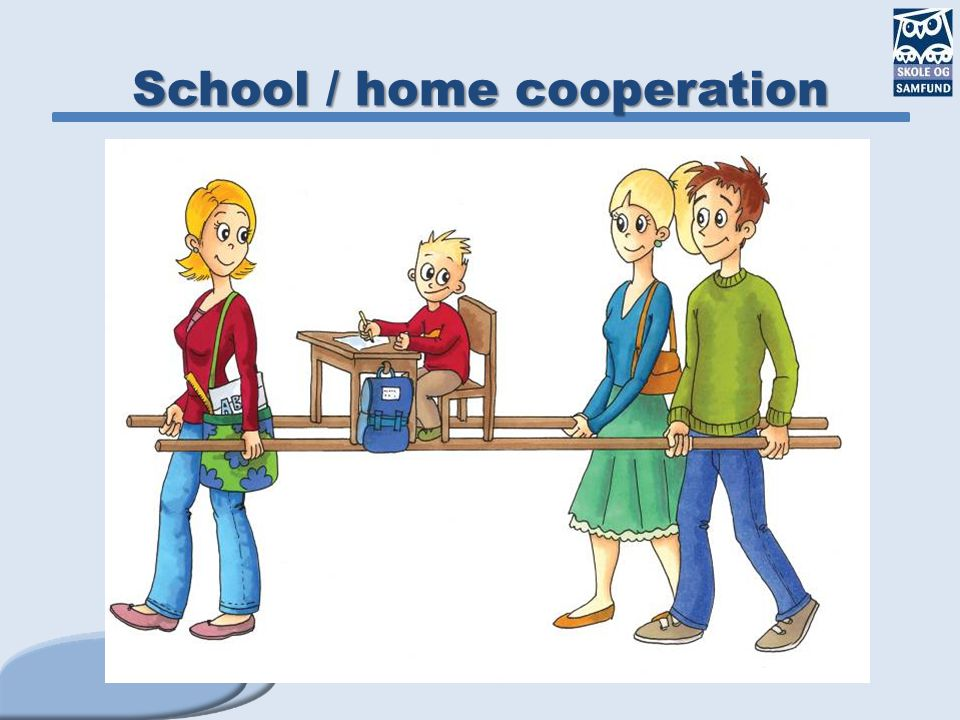 School / home cooperation