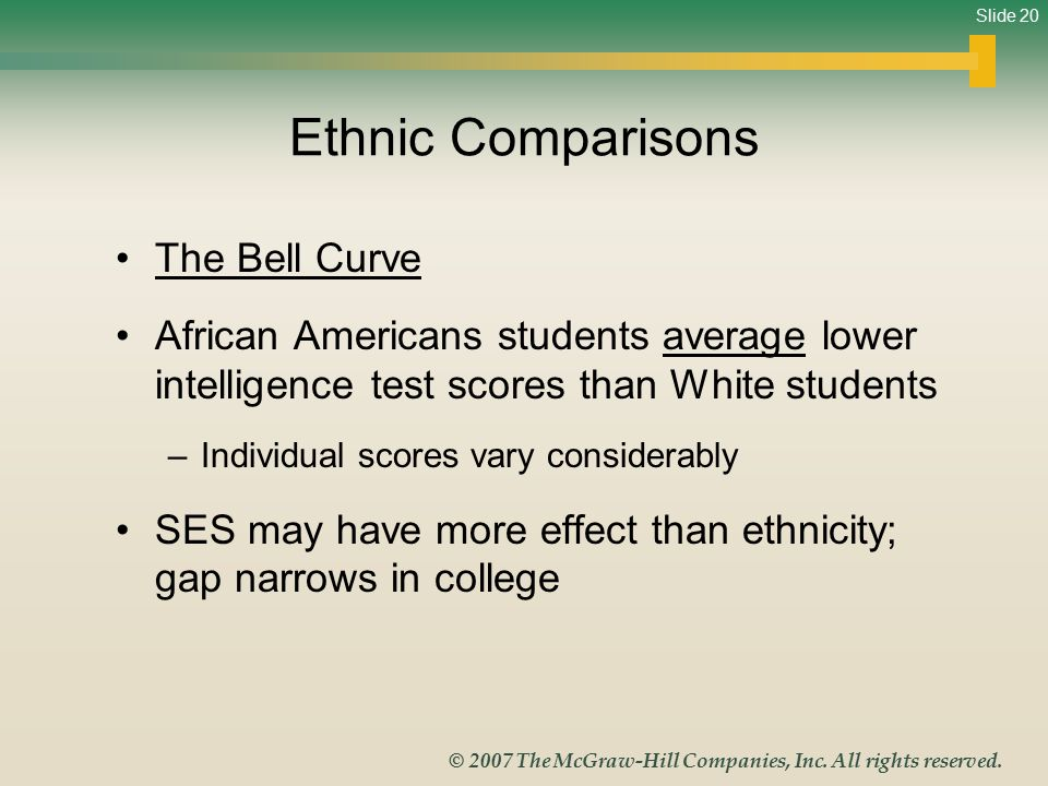 Slide 20 © 2007 The McGraw-Hill Companies, Inc.All rights reserved.