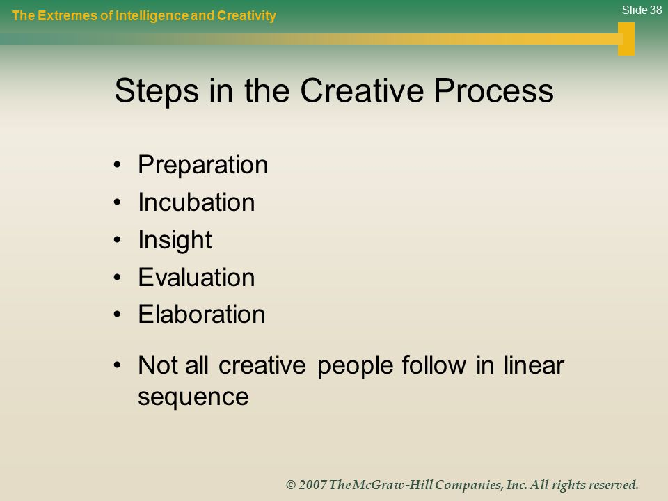 Slide 38 © 2007 The McGraw-Hill Companies, Inc.All rights reserved.