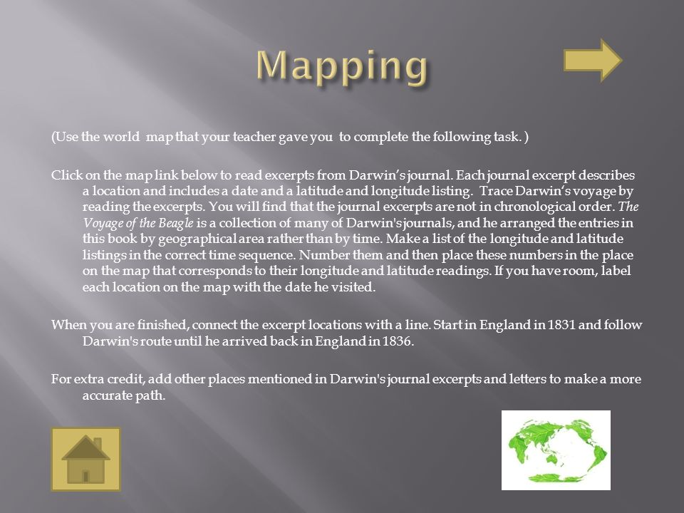 (Use the world map that your teacher gave you to complete the following task.