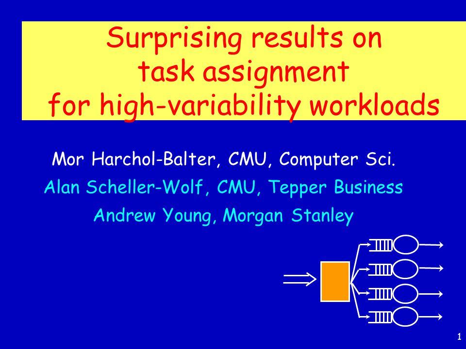 1 Mor Harchol-Balter, CMU, Computer Sci.