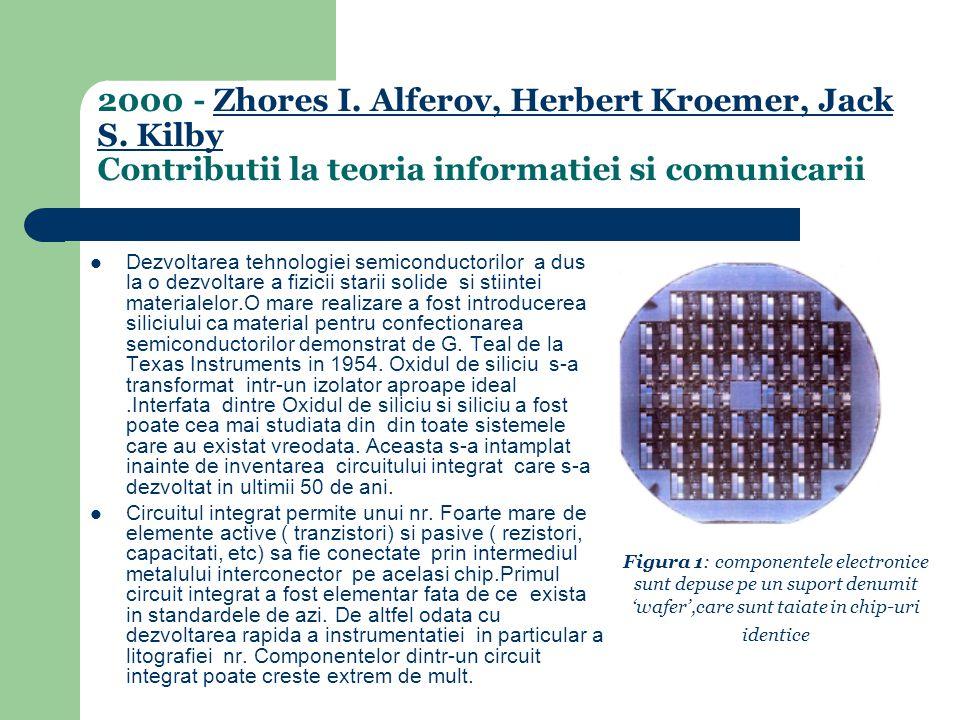 2000 - Zhores I.Alferov, Herbert Kroemer, Jack S.