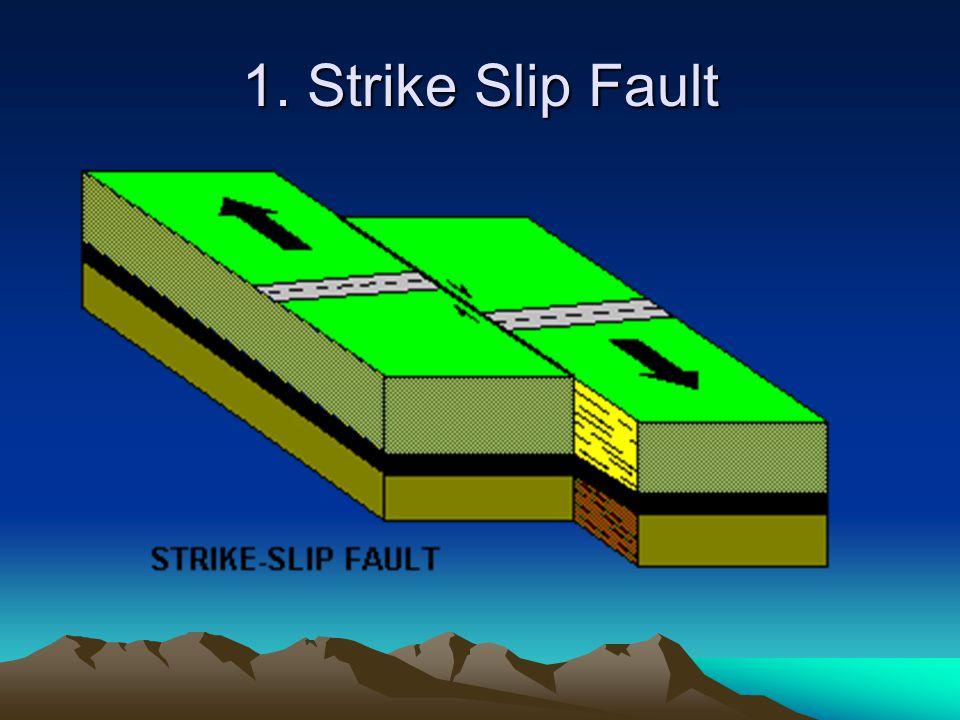 1. Strike Slip Fault