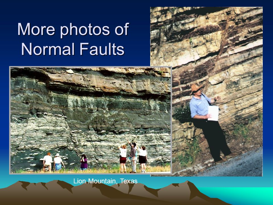 More photos of Normal Faults Lion Mountain, Texas
