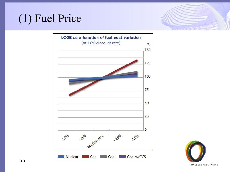 (1) Fuel Price 10