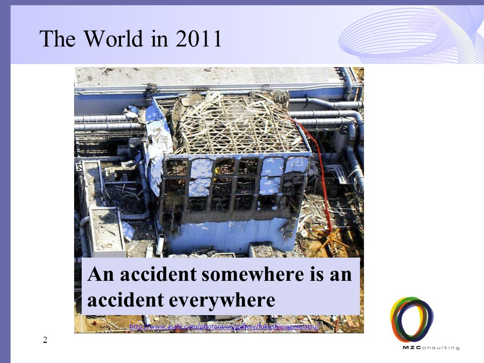 The World in 2011 An accident somewhere is an accident everywhere 2