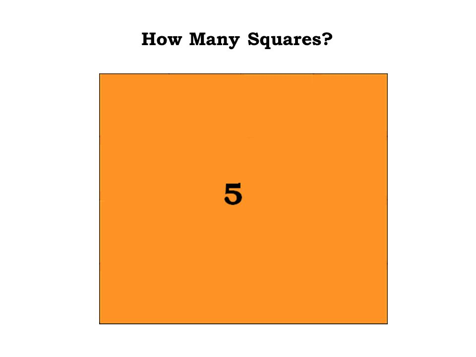 Still kind of easy. The answer is : 5 How Many Squares
