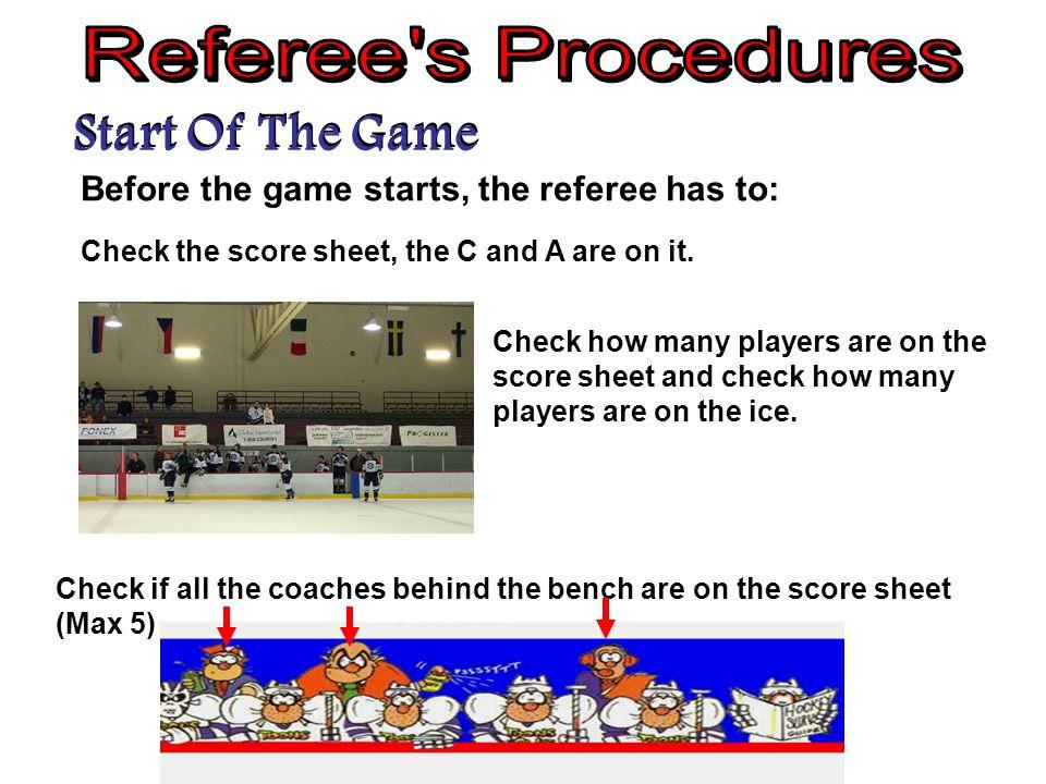 Goal Procedures Official's WorkbookP 29 Questions 1 to 6 1.