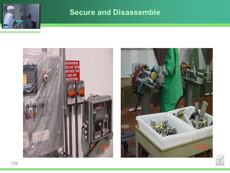 Secure and Disassemble 106