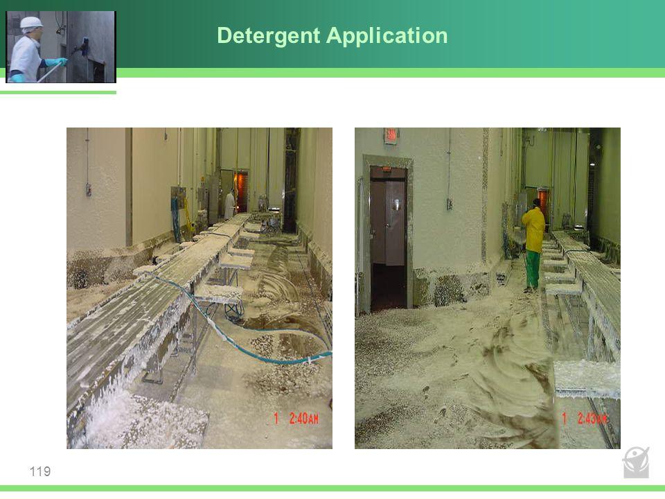 Detergent Application 119