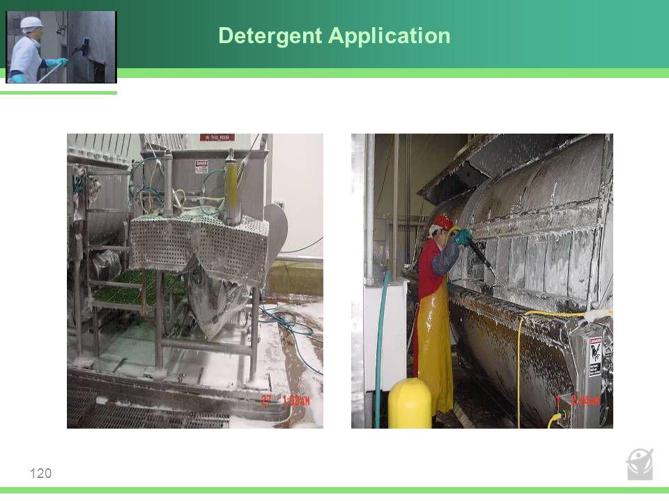 Detergent Application 120