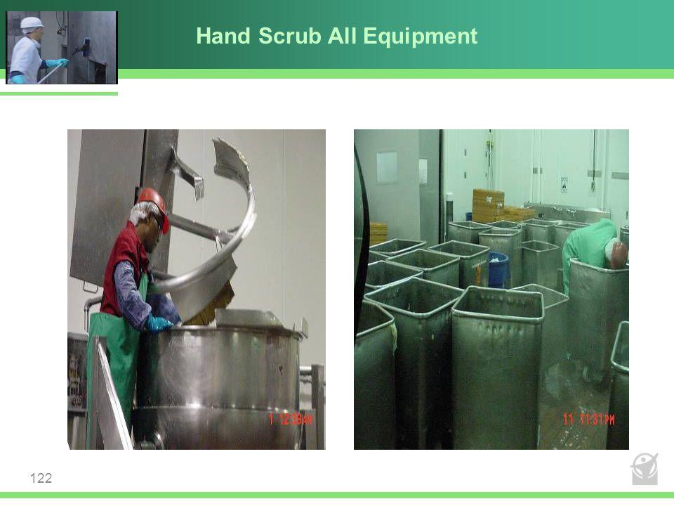 Hand Scrub All Equipment 122