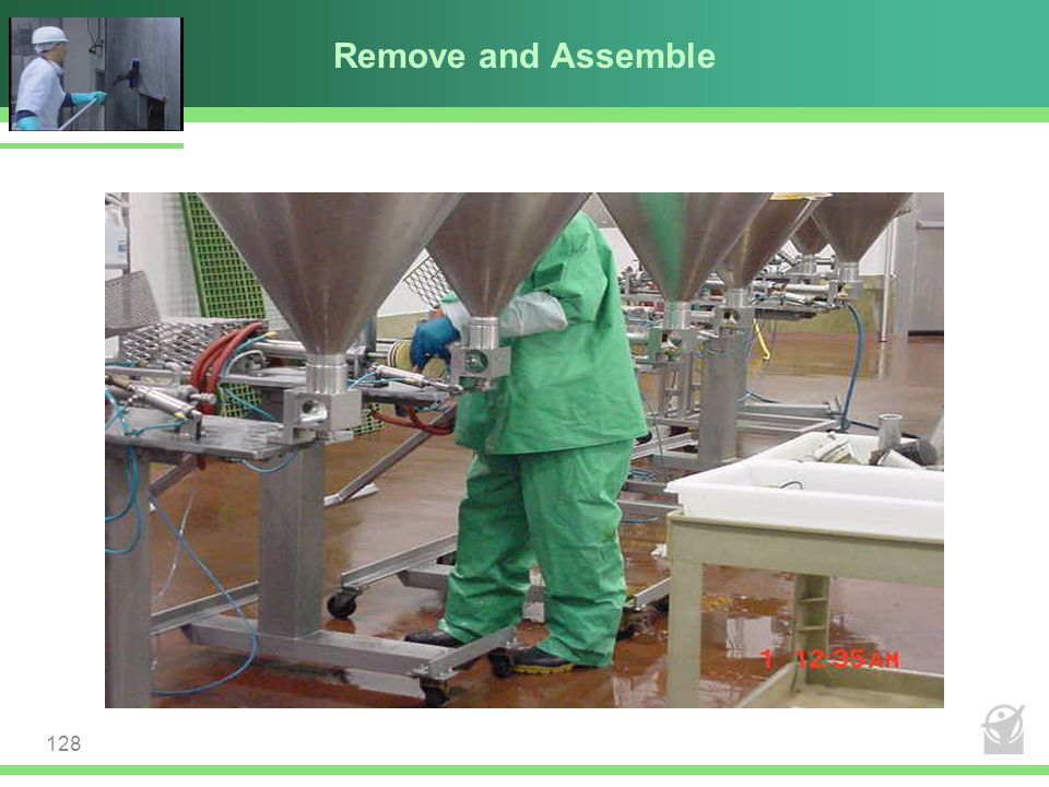 Remove and Assemble 128