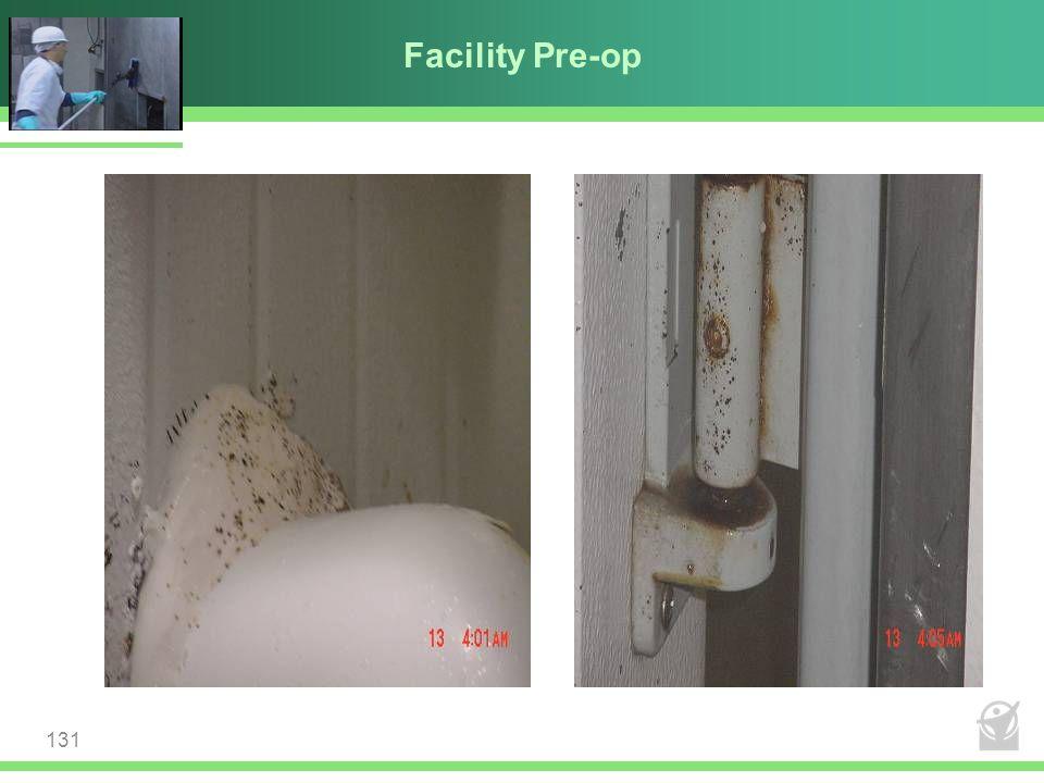 Facility Pre-op 131