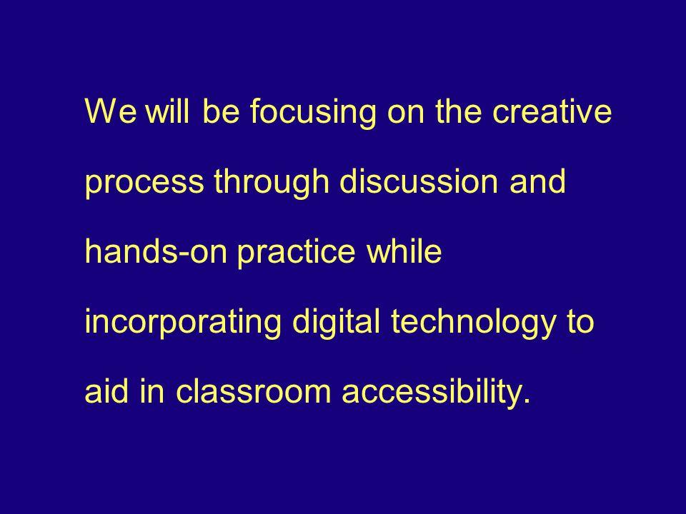 Basic Principles for Universal Design in Learning Provide Multiple Means of: I.
