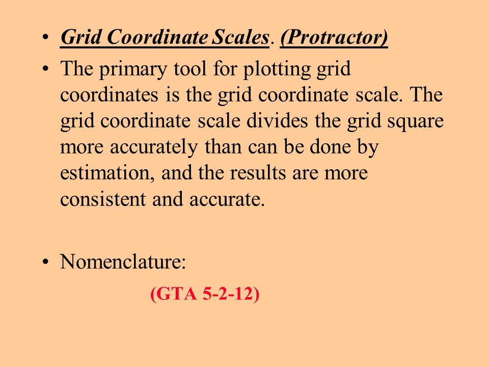 Action: Determine the grid coordinate within 100 meters of accuracy on a Military Map with in 10 minutes. Condition: In a classroom environment, given
