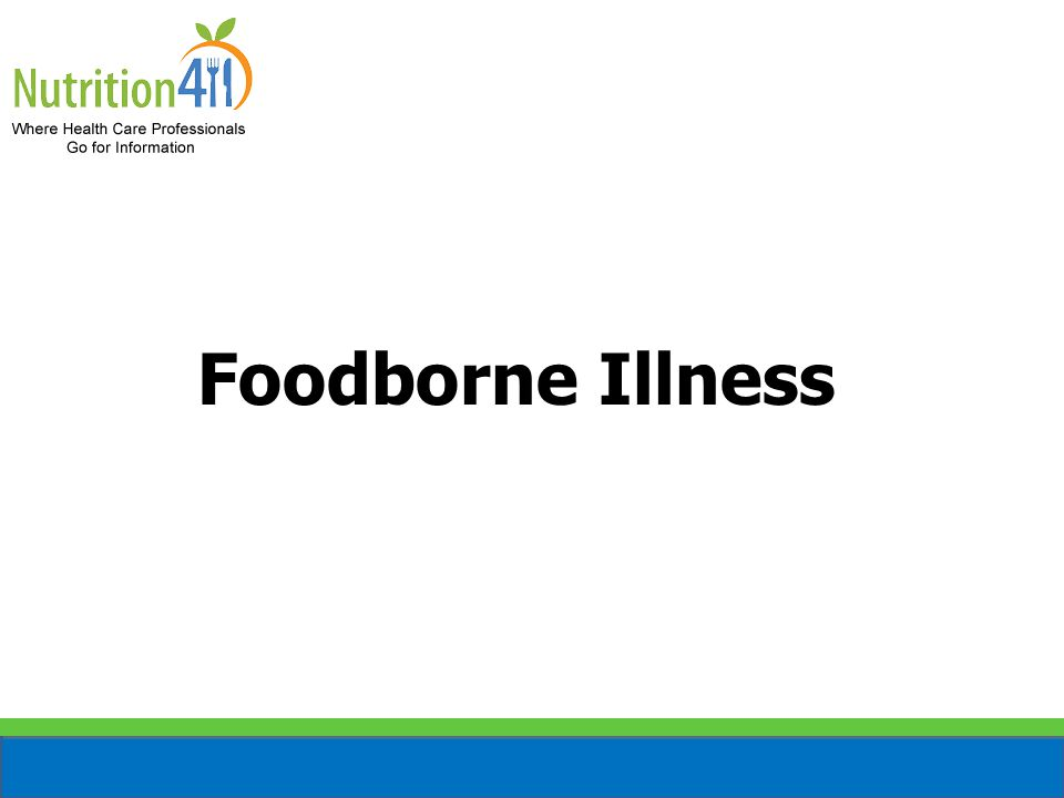 Microorganisms The major cause of a foodborne illness You cannot feel, see, or taste them Very quick to multiply in potentially hazardous foods Most of the foods we eat contain one or more type of microorganism