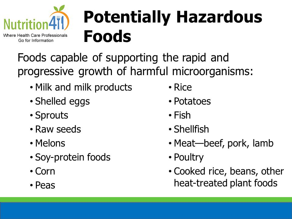 Types of Microorganisms Bacteria Virus Parasite Fungus Two groups of food contaminants: – Pathogen (cannot see, smell, or taste) – Spoilage (can see, smell, or taste)