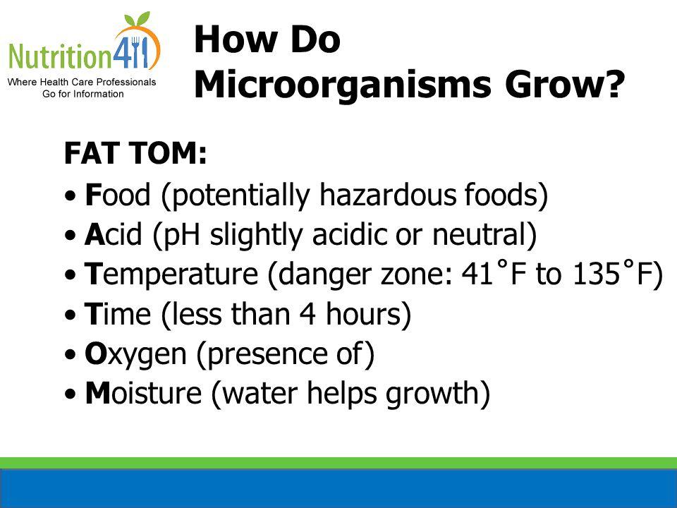 How Do Microorganisms Grow.