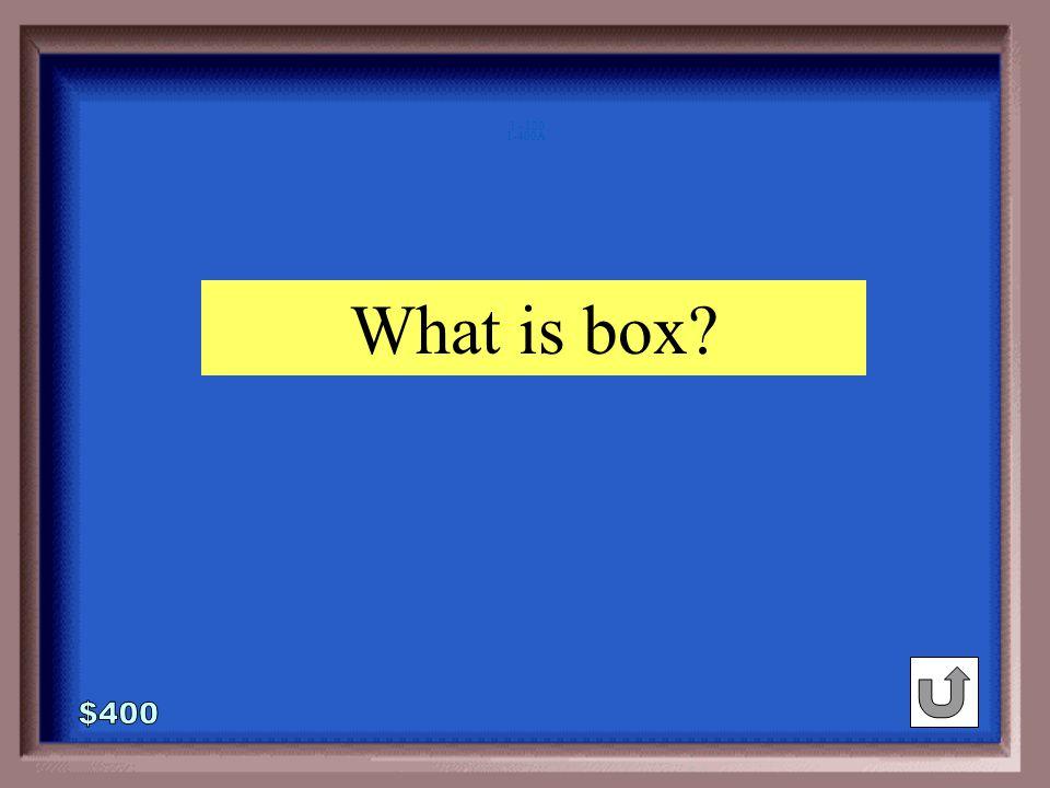 1-400 bug : insect :: carton : _______ box milk plastic