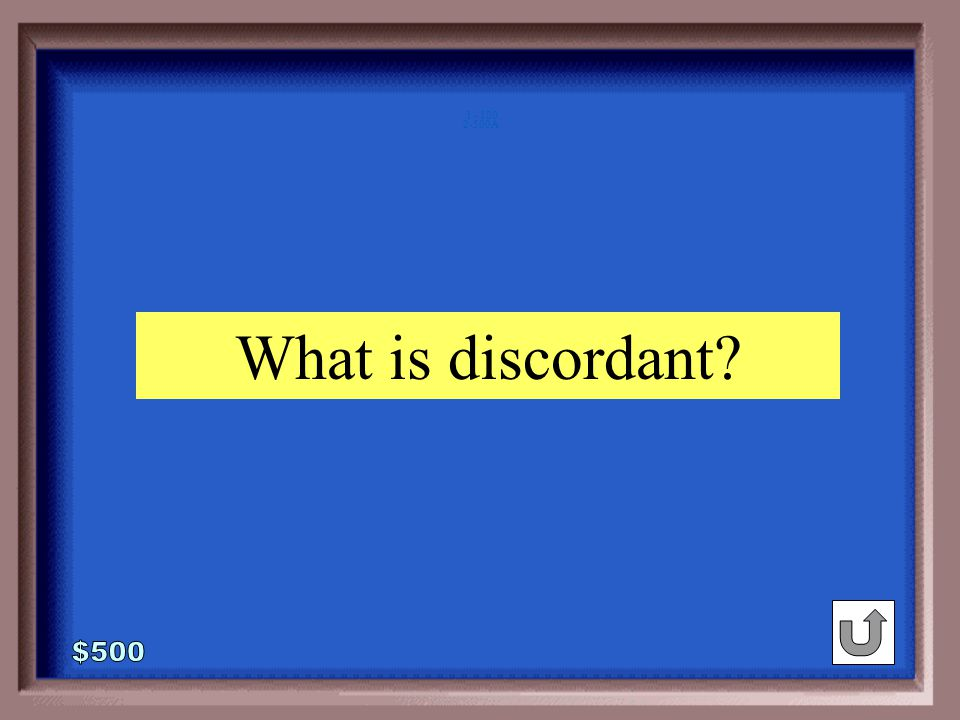 2-500 pass : fail :: harmonious :_____ agreeable discordant singing