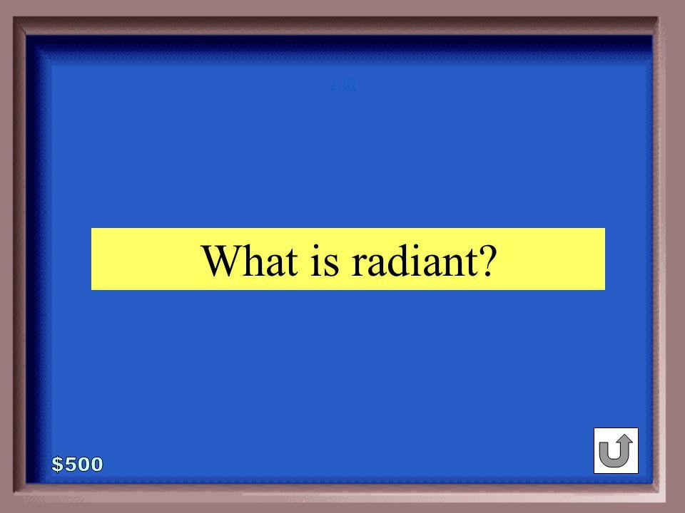 4-500 award : prestigious :: sun : ____ ray radiant moon