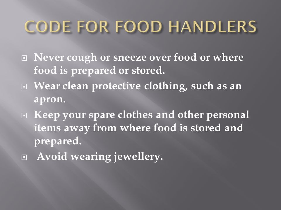  Always refrigerate perishable food within 2 hours.