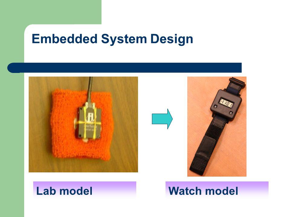 Embedded System Design Lab modelWatch model