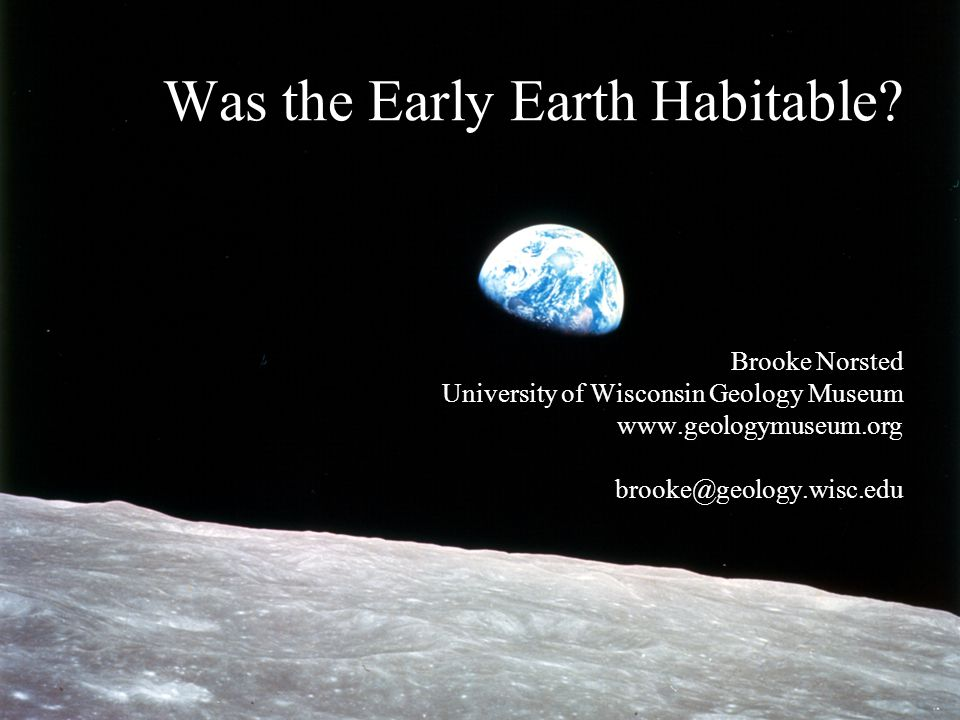 Was the Early Earth Habitable.
