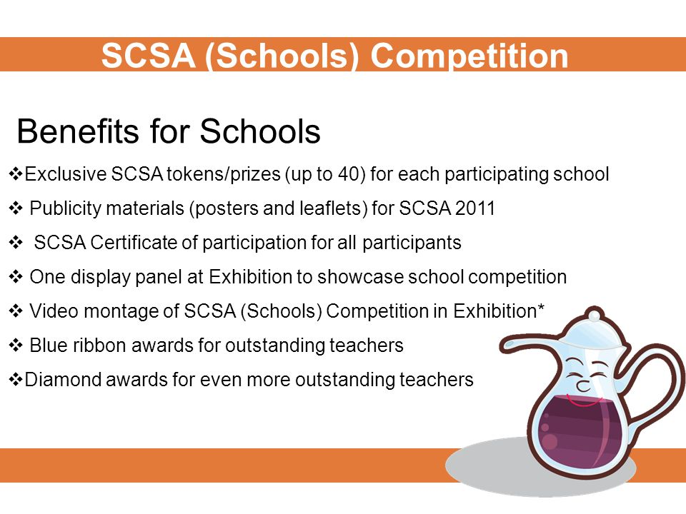 The SCSA Blue Ribbon Award seeks to recognise: the influence teachers have on their students in the SCSA (Schools) Competition; the role that teachers have in motivating their students to achieve; the role teachers play in guiding, mentoring, and advising students; and teachers that achieve results outside the classroom.